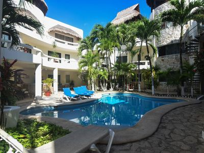 Photo for Bask in the Balmy Air! Huge Rooftop, Palapa, Pool