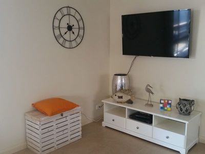Living area with TV