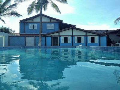 Photo for House with pool facing the sea