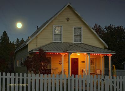 Full moon over Toad Hollow