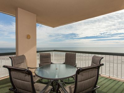 Photo for Outstanding condo in Wild Dunes with two oceanfront decks and pool access