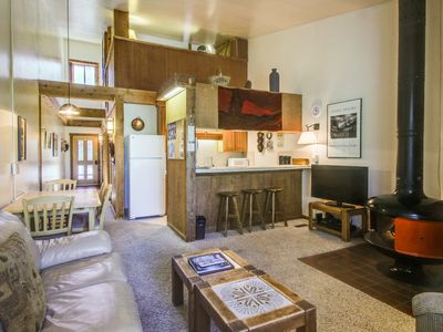 Photo for Ski-in/ski-out at this dog-friendly condo w/shared pool/hot tub/sauna!