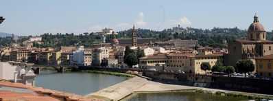 Photo for beautiful apartment overlooking the Arno river