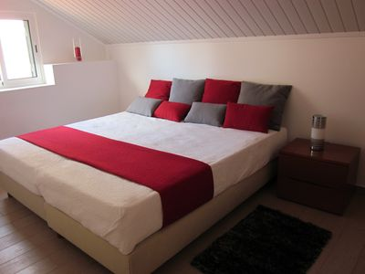 Bedroom 1 of Apt.(A) (when beds are joined)