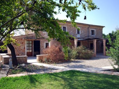 Photo for Restored country house in Búger with private pool, lovely garden and fruit trees