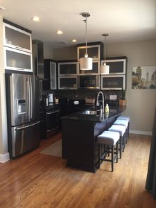 Downtown Penthouse With Terrace, 1/2 block from Main St in the heart of downtown