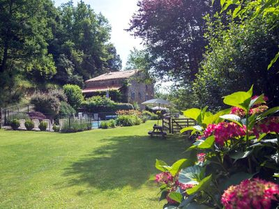 Photo for El Casot, a tranquil retreat with pool in its own valley 30 miles from the sea