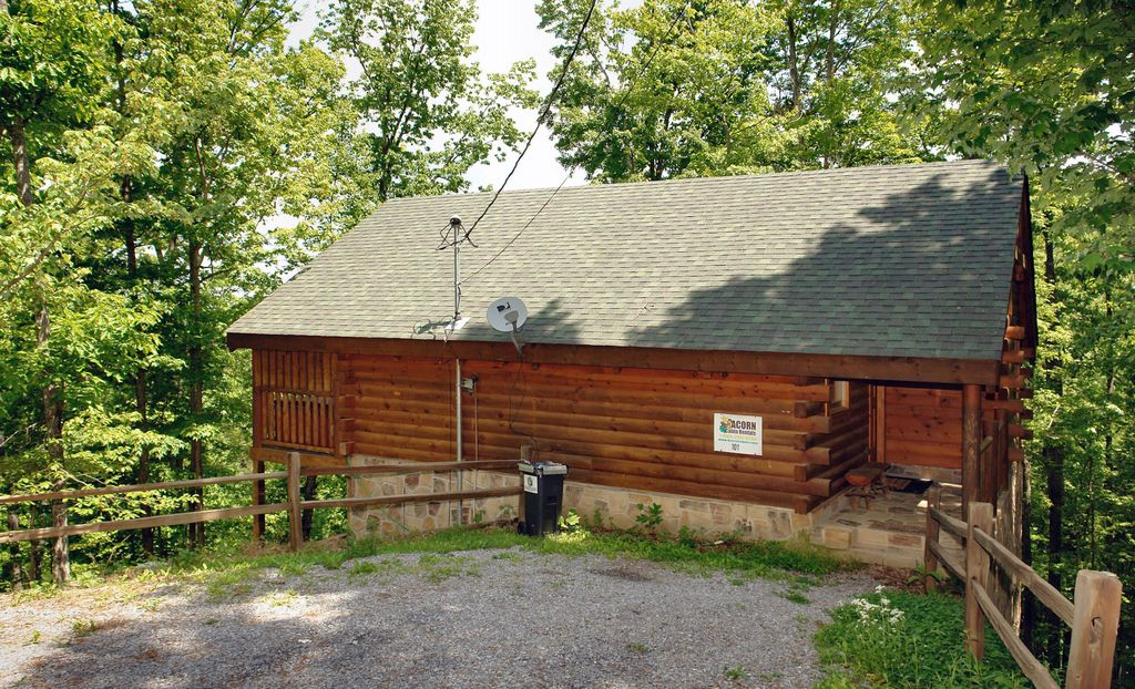 Secluded 1 Bedroom Cabin Near Pigeon Forge Tn Wears Valley Sevier County