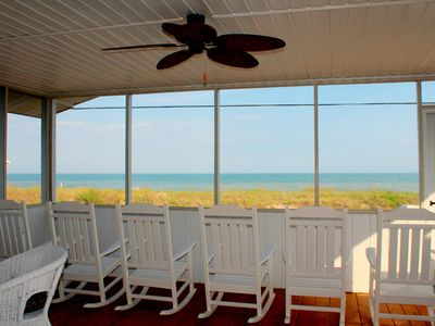 Photo for 4 bedrooms, Gorgeous Ocean Views, fireplace, entertainment room with BIG TV!