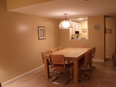 dinning room looking into kitchen