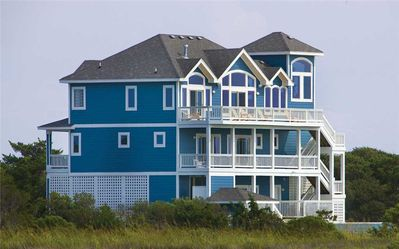 Photo for Soundfront Retreat- Pool, Hot Tub, Sound Boardwalk, Elevator, Theater & Game Rms