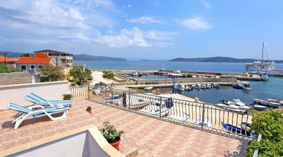 Photo for 2BR Apartment Vacation Rental in Riviera Trogir, Riviera Trogir
