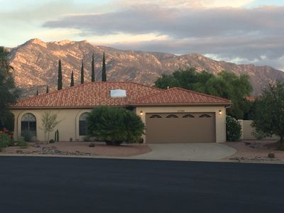 Photo for Beautiful SaddleBrooke Home with Panoramic Mountain Views.
