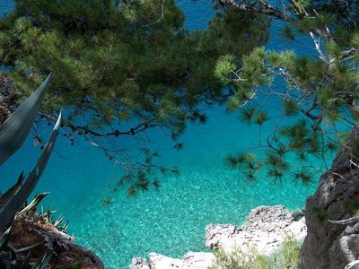 Photo for Holiday apartment Makarska for 2 persons with 1 bedroom - Holiday apartment
