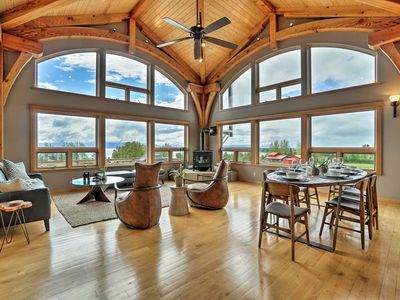 Photo for NEW-Kachemak Bay View House 5 Mi to Downtown Homer
