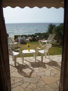 Photo for Menigos 3 SEAFRONT WITH GARDEN - MAISONETTE