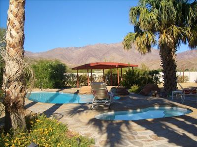 Photo for 43 Palms - Two Acre Privacy - Pool/Spa/Patio - 80+ Reviews WOW