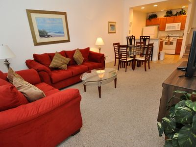 Photo for 3 Bedrooms Townhouse at Villas at Seven Dwarfs only 4 miles from Disney! - DF
