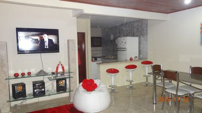 Photo for G3 rooms mesaninho, 2/4 in s. floor, 1 bedroom on the ground floor, 2 bathrooms