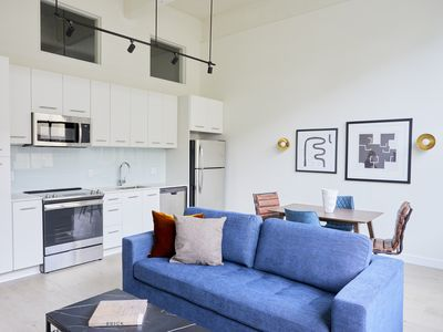 Photo for Sonder | Museum District | Bright 1BR + Rooftop