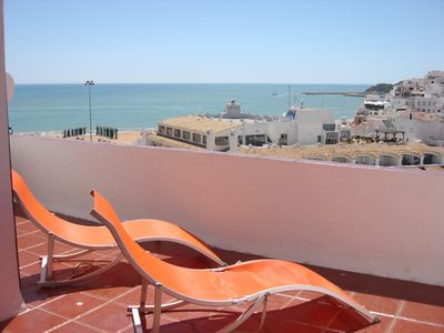 Balcony - excellent view from beach
