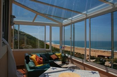 Photo for House with Wide 180 Degree View over the Sea Natural Reserve
