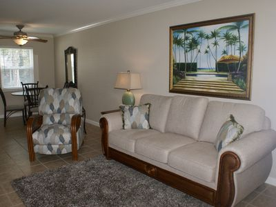 Photo for Waterfront Condo Overlooking St. Joseph's Sound Steps from Downtown Dunedin