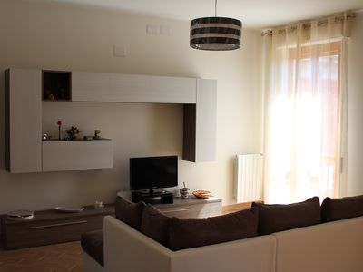 Photo for light apartment, large and comfortable 4th and last floor, Poetto area