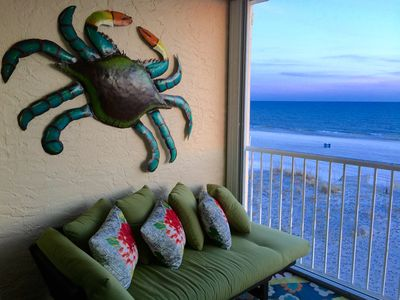 Photo for BEST Location~Overlooks Beach, Ocean & Pool~Newly Remodeled~Sleeps 9