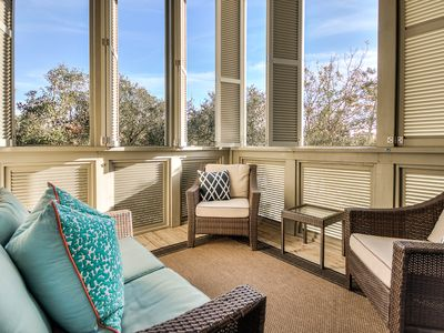 Photo for Gulfside 30A 3 BD Villa next to Rosemary & Alys Beach-Gulf Views! Comm. Pool