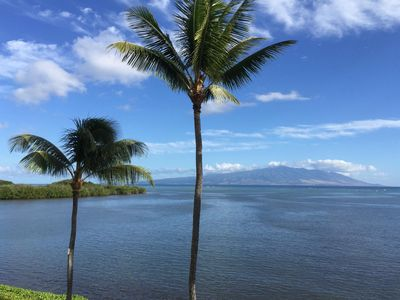 View of Maui from lanai