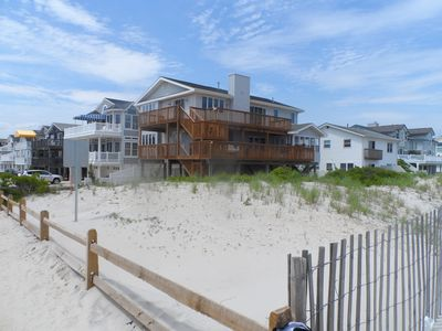 Photo for Classic, comfortable, and sizable beachfront single home with spectacular views