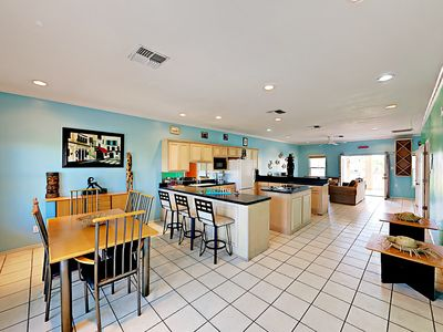 Photo for All-Suite 3BR w/ 4 Balconies & Game Room - Walk 2 Minutes to the Beach