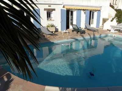 Photo for Apartment 3 Rooms Ground Floor VILLA with Private Pool,
