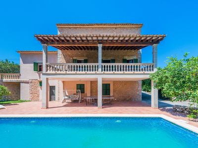 Photo for Villa with pool and view – Finca Can Guixe