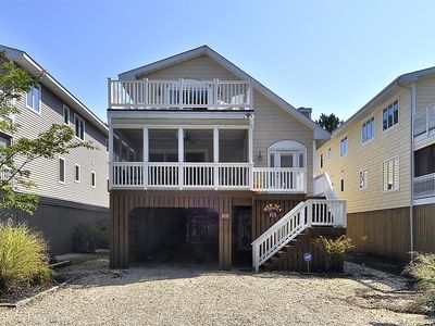 Photo for FREE DAILY ACTIVITIES!!! OCEANSIDE IN TOWN BETHANY BEACH!  Beautiful six bedroom 4.5 bath located in the town of Bethany Beach.