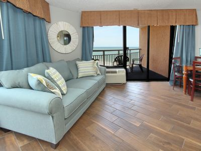 Photo for East Coast Sunrises Oceanview with Dual Balconies 1bd Condo on Golden Mile