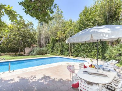 Photo for Lovely apartment for 9 people with private pool, WIFI, TV and parking