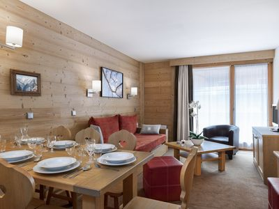 Photo for Charming  apartment in the heart of Courchevel