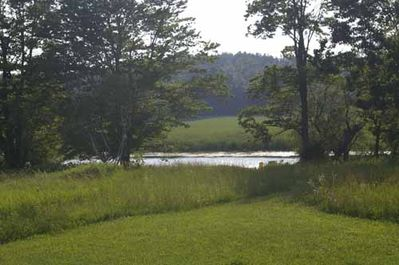 View of river from yard