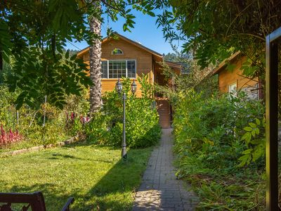 Photo for Beautiful custom home in sunny Russian River beachside community; weekly special