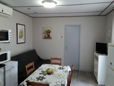 Photo for Vias Sur Mer: Bungalow 5/6 pers in a holiday park (dragonniere)