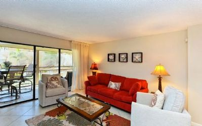 Photo for Chinaberry 426 - 2 Bedroom Condo with Private Beach with lounge chairs & umbrella provided, 2 Poo...