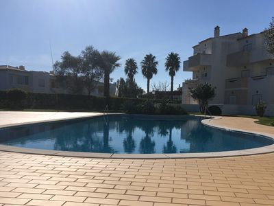Photo for Lovely 2 Bedroom Apartment in Alvor with Shared Pool close to Town and Beach