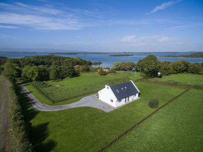 Photo for BROWNSTOWN LODGE - Fishing Lodge & Country House with lake view and secluded location