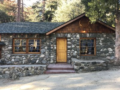 Photo for Cabin 1 Basque stone cabin built in the 1930's. Step back in time with crisp air