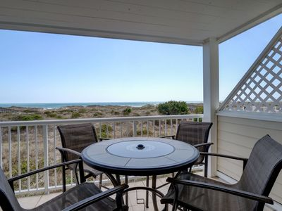 Photo for Wrightsville Dunes G-1C - Oceanfront condo with community pool, tennis, beach