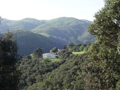 Photo for Rent Céret in Mas Catalan (90m2), beautiful mountain view, terrace 100m2,