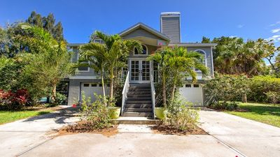 Photo for Siesta Key - Furnished Key Villa With Large Pool Set In Tropical Acre Garden