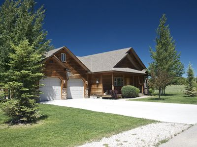 Photo for Beautiful Home on Ski Hill Road, Near Targhee and 41 mins. from Jackson WY